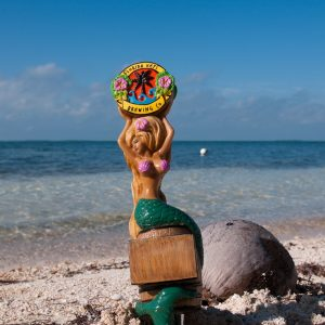 blonde hair mermaid tap handle