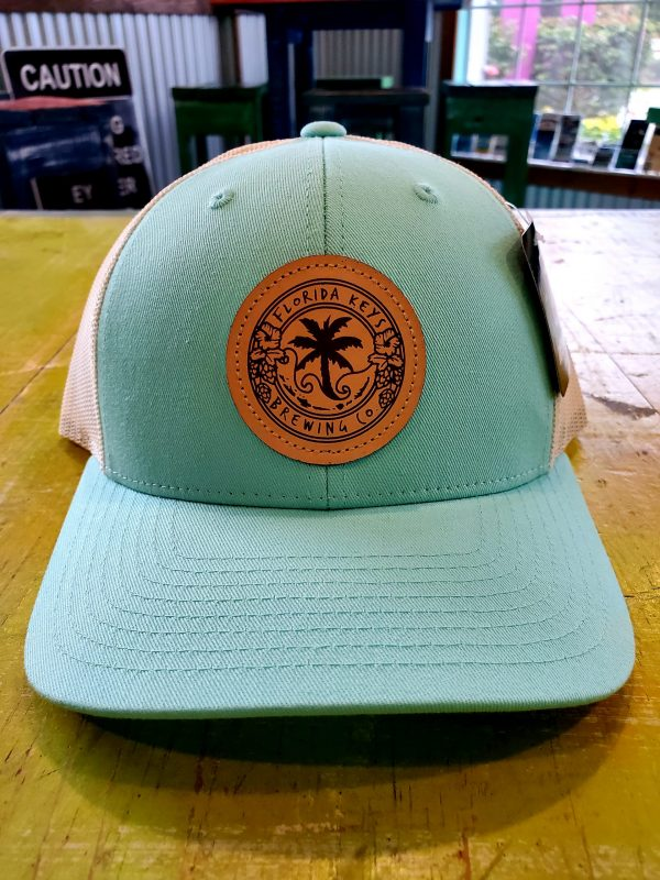 teal hat snap back