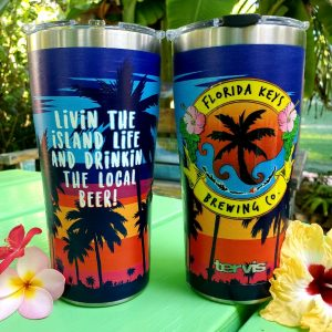 20 oz tervis palm sunset