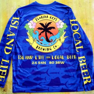 royal long sleeve pelagic fish SPF shirt