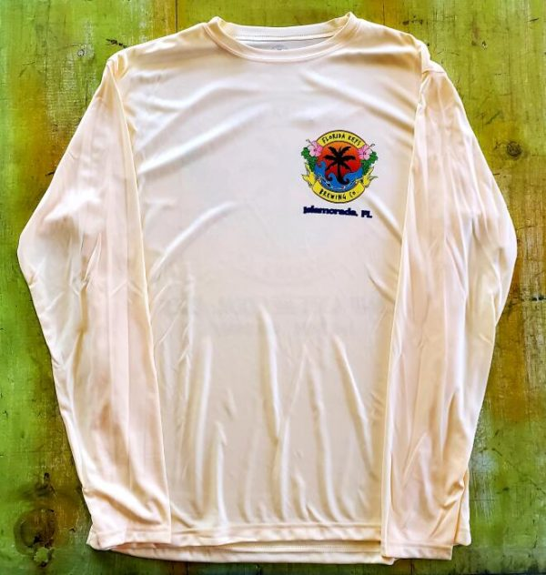 Yellow long sleeve SPF shirt