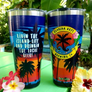 30 oz tervis palm sunset