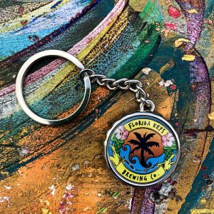 fkbc bottle cap keychain