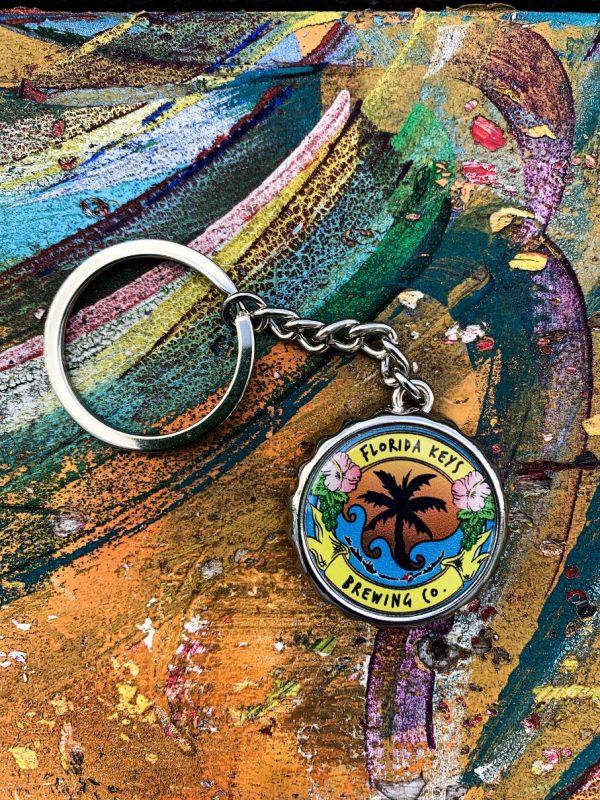 fkbc bottle cap keychain