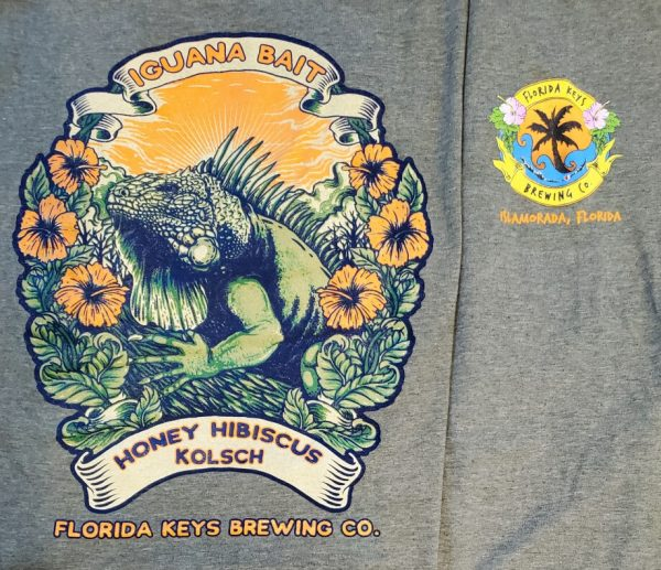 Iguana Bait short sleeve shirt