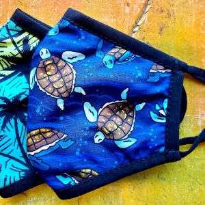 Kids Palm Turtle Mask
