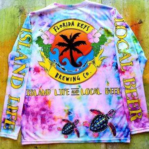 Tie Dye Turtle SPF Back