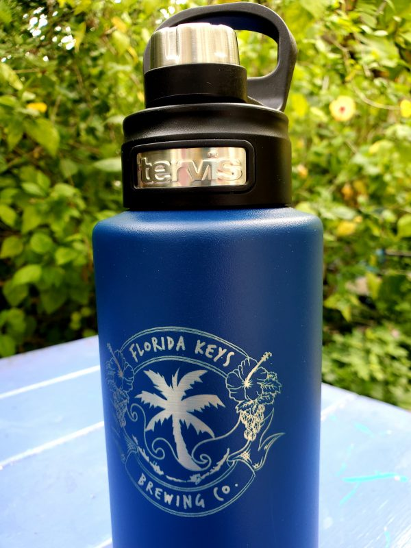 32 oz Tervis Widemouth Blue